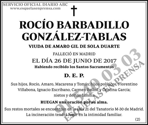 Rocío Barbadillo González-Tablas